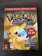Pokemon Yellow Prima Official Strategy Guide