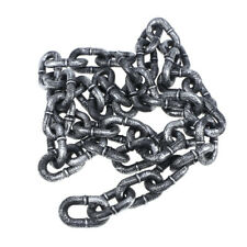 1pc 1M Chain Link Simulation Plastic Props Link Halloween Chain for Decor