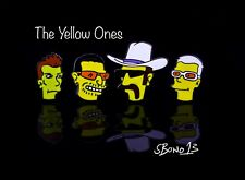 U2 The Yellow Ones Pin Badges / Full Set - New - Rare Limited Ed