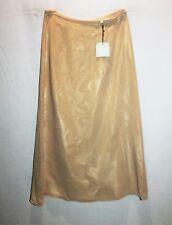 B-J-C Brand Cream Lined Maxi Skirt Size 8 BNWT #TL16