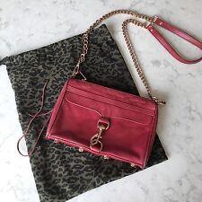 Rebecca Minkoff Red Mini Mac Crossbody Bag