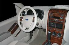 FORD EXPLORER XLT XLS INTERIOR WOOD DASH TRIM KIT SET 2006 2007 2008 2009 2010