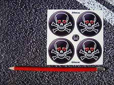 Skull Wheel Vinyl Stickers & Crossbones Dead Of The Dead T2 Beetle Camper VW T3
