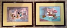 Disney Art - CEL's - MATCHED SET - Mickey's Christmas Carol - Scrooge - TWO