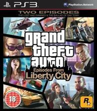 Grand Theft Auto Episodios De Liberty City PS3 PlayStation 3 Video Juego