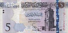 Libyen / Libya 5 Dinar 2015 Pick neu (1)