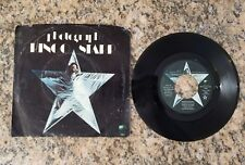 RINGO STAR PHOTOGRAPH/DOWN AND OUT APPLE RECORDS 1865, 45RPM