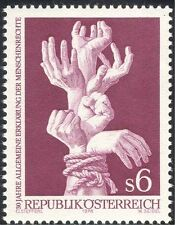 Austria 1978 Hands/Declaration of Human Rights/Welfare/UN/People 1v (n44276)