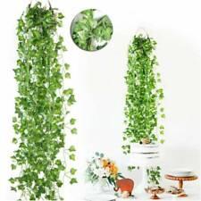 1X Artificial Ivy Leaf Trailing Vine Fake Foliage Flower Hanging Garland Plant W
