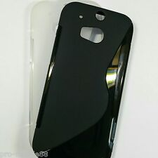HTC One M8 - S-line Silicone Soft Phone Case