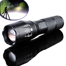 Tactical XML T6 Zoomabile 18650 Torcia LED Batteria Lampada Torcia da Polizia 10000LM