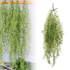 AU Artificial Hanging Plants String of Pearls Green Flower Vine Fake Succulents
