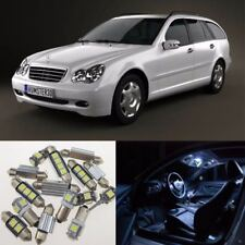 15×Interior LED Light Kit Error Free for Mercedes Benz W203 C Class 2000-2007