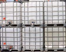 1.000 Liter IBC Behälter, Tankl,Container auf Stahlpalette, Sorgfältig gereinigt