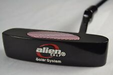 "Alien Golf Solar System Black Blade Putter Steel Shaft RH 33"""