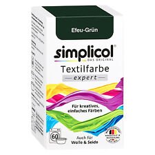 Simplicol Textile Expert Ivy Green 150g Color Also for Wool & Silk