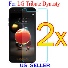 2x Clear LCD Screen Protector Guard Cover Film For LG Tribute Dynasty