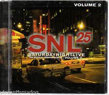SATURDAY NIGHT LIVE - THE MUSICAL PERFORMANCES volume 2 (brand new CD)