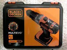 New Retail BLACK & DECKER MT218KB MULTiEVO 18V MultiTool Drill Kit 2x 1.5ah Batt