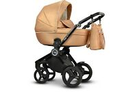 Baby Pram Pushchair MODO EXTER Eco-leather Travel System 3in1 4in1 Car Seat Iso