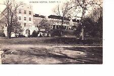 Summit, NJ  Overlook Hospital  1930s