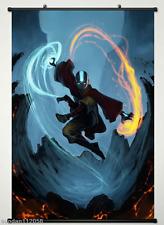 Avatar The Last Airbender - Aang Fight Japan Anime  Poster Anime Art Silk Poste