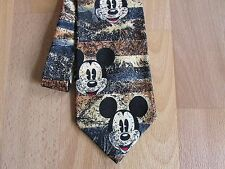 WALT Disney Mickey Mouse PURA SETA TIE by DISNEY AT Tie Rack