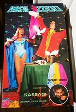 Vintage Boîte Coffret MAGIE 2000 Modèle Senior Présenté Par KASSAGI