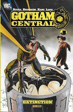 GOTHAM CENTRAL : EXTINCTION - BATMAN - ROBIN - PANINI COMICS -2008-