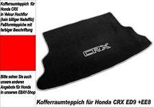 Kofferraum Teppich CRX ED9 EE8 Velour SW Grau