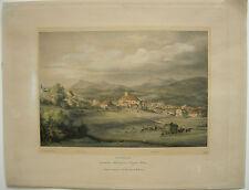 Total Meiesbach vista farblithographie Adam tras 1851 lebschee Alta Baviera