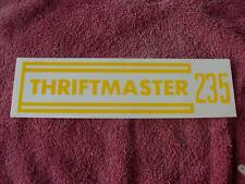 235 ENGINE VALVE COVER DECAL THRIFTMASTER 1947 48 49 50 52 52 53 CHEVROLET TRUC