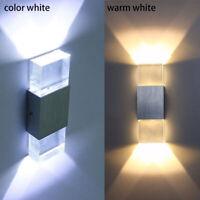 Wandleuchte Wand-Lampe Strahler Spot Flur-Licht Weiss Wohnzimmer Beleuchtung LED