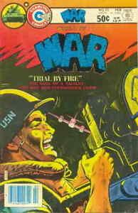 War #25 VG; Charlton | low grade comic - save on shipping - details inside