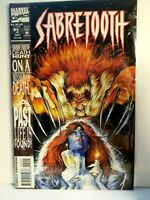 Marvel Sabretooth Comic Book # 2 Sept 1993 Excellent Condition Free Ship RARE
