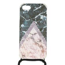 Mayumi iPhone 7/8 Necklace case ilumi Marble Funda protectora móvil cadena funda de móvil