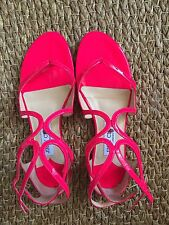 Jimmy Choo Designer Fushia Strappy Sandals , UK 4/ 37 EUR - Retailed @ 479