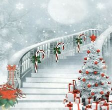 Christmas Backdrop 10x10ft Background Scene Photography Prop Backdrop Show
