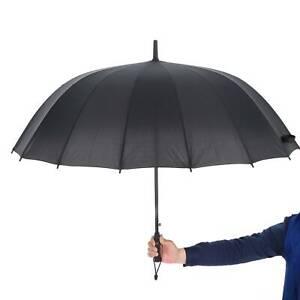 New Umbrella Extra Large Auto Open Rain Wind Resistant Men Women Proof Folding
