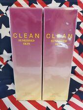 NEW x2 CLEAN FRAGRANCE SunKissed Skin  EAU FRAICHE SPRAY PERFUME 5.9 OZ