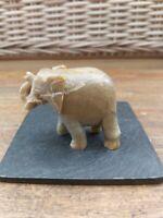 Vintage Small Marble / Onyx ELEPHANT
