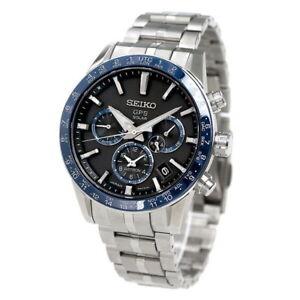 SEIKO ASTRON SBXC001 GPS Titanium Model Solar Men's Watch Black Dial New in Box