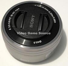 Sony 16-50mm OSS f3.5-5.6 (sel-p1650) objetivamente plata Silver lens Nex e-Mount