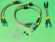 NEW BMW E90 E92 335xi AWD Models Stainless Steel Brake Line Set