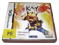 Legend of Kay Nintendo DS 2DS 3DS Game *Complete*