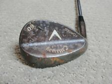 Left-Handed Callaway Forged Vintage Wedge 60* Golf Club w/some rust Gap Sand