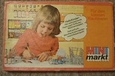 Mini Markt Kaufmannsladen DDR Zubehör Karton VEB Famos Leipzig Pappschachteln