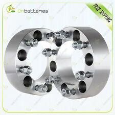 """(2)2"""" 50mm 6x5.5 6x139.7 12x1.5 Wheel Spacers For 2004-2012 GMC Canyon"""