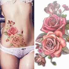 Tattoo Rose Temporräres Tattoos Sticker Body Tattoo Wasserfest