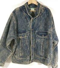 Urban Equipment World Wear JEAN Jacket Acid Wash XL X LARGE MEN'S